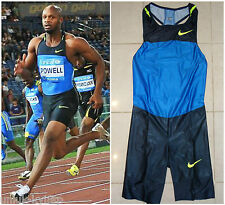 NIKE PRO ELITE Sprint Speed Skin Suit Singlet Shorts Run Track Field Olympic L