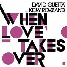 David Guetta When love takes over (2009; 2 versions, cardsleeve, fea.. [Maxi-CD]