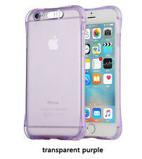 Shockproof LED Incoming Call Blink Transparent TPU Case Cover For iPhone Samsung