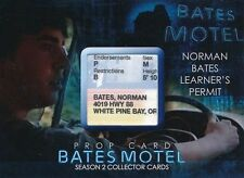 2016 SDCC BATES MOTEL SEASON 2 PROP CARD NORMAN LEARNER'S PERMIT /8 SDBP6
