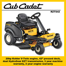 Cub Cadet RZTS42 Steering Wheel Zero Turn Mower - SAVE $550!