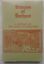 J STEVENSON.SIMEON OF DURHAM.S/B FACSIMILE 1987/1858.NEAR MINT.KINGS OF ENGLAND