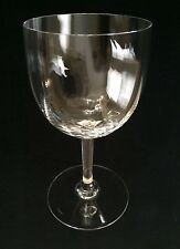 Baccarat Crystal Montaigne - Optic Tall Water Goblet / Red Wine Glass - Bacmont