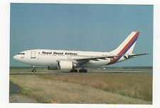 Royal Nepal Airlines Airbus A310-304 Aviation Postcard, A824