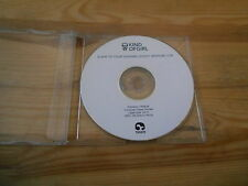 CD Indie Kind Of Girl - Slave To Your Charms (1 Song) Promo TRAK2R disc only