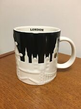 "Starbucks  LONDON  Cup Mug  ""City Relief""  Collection  NEW witth Tag   VHTF"