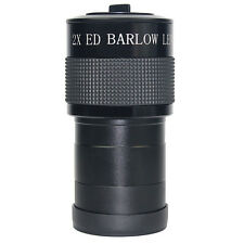 "2inch ED 2x Barlow Lens for Astronomic Telescope+2"" to 1.25 "" Adapter High Quali"