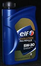 1 Liter Elf Evolution Full-Tech LLX 5W-30 VW 504.00 / 507.00 Motorenöl MB BMW LL