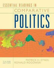 Essential Readings in Comparative Politics (Third Edition) Patrick H O'Neil Pap