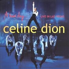 A New Day...Live in Las Vegas by Celine Dion (CD + Bonus DVD, 2004, Sony) LN