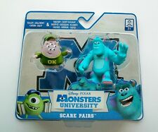 "DISNEY Pixar MONSTERS UNIVERSITY Scare Pairs SULLEY & SQUISHY 2½"" & 1¾"" Figures"