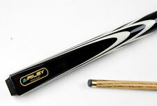Riley BLACK TRIUMPH 2 Piece Ash Snooker Pool Cue - 9mm Tip