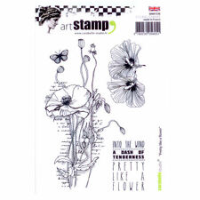 Carabelle Studio A6 Unmounted Stamp Set - Pretty Like A Flower