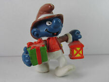 S92-pitufo/Smurf 2.0201 weihnachtsschlumpf con farol/Christmas Lantern