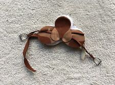 Rare Retired Breyer Horse Traditional Accessory English Riding Saddle Set Brown