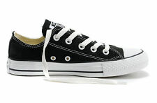 Women Lady ALL STARs Chuck Taylor Ox Low Top classic Canvas Sneakers US7.5 black