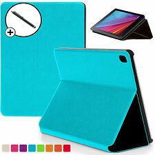 Blue Clam Shell Smart Case Cover Huawei MediaPad T1 7.0 Plus + Stylus