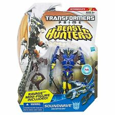 Transformers Prime Beast Hunters Deluxe Class Soundwave