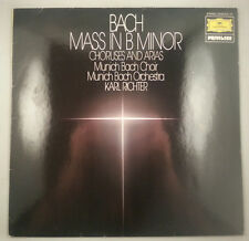 Bach: Mass in B Minor/Karl Richter/DG Privilege Stereo 2535 313 NM