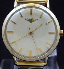 NICE ORIGINAL VINTAGE THIN 1958 LONGINES MANUAL WATCH SERVICE 23ZS MODEL 69-228