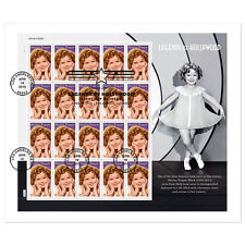 USPS New Shirley Temple First Day Cover Full Pane