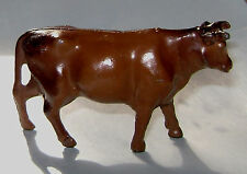"Vintage American Metal Toys Lead ""Cow, Brown"" AMA19  Near Mint Cond FREE SHIP"