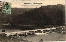 CPA Toul-Le Barrage et le Pont sur la Moselle á Villey le Sec (187737)