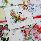 NEW 10pcs lot cutter ladies vintage soft cotton hanky floral handkerchief