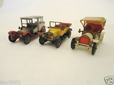 MATCHBOX MODELS OF YESTERYEAR 1909 OPEL COUPE / 1911 DAIMLER / 1912 ROLLS ROYCE
