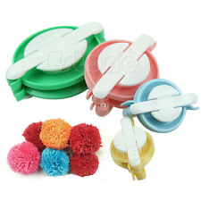 8pcs 4 Sizes Pompom Maker Fluff Ball Weaver Needle Craft Knitting Wool Tool DIY