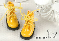 ☆╮Cool Cat╭☆【15-10】Blythe Pullip Doll Short Shoes # Shiny Yellow