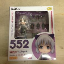 Nendoroid 552 Strike Witches 2 Sanya V.Litvyak Figure W/Display Stand, New Seale