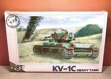 1/72 PST HEAVY TANK KV-1C MODEL KIT # 72035