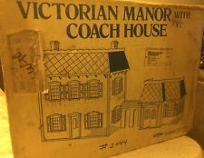 Skilcraft 1979 Victorian Manor Dollhouse With Rare Coach House