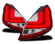 Light Tube LED taillights in Red Clear for Ford Fiesta MK7 VI JA8 2008-2012