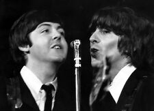 The Beatles Paul McCartney George Harrison Photo Print 13x19""