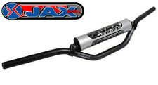 "JAX METALS MOTOCROSS ZX9 HANDLEBARS MINI ACTION 84BK BLACK 7/8"" off road 22mm"