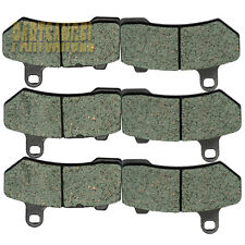 Front Rear Kevlar Carbon Brake Pads - 2008 2009 2010 2011 HARLEY FLHR Road King