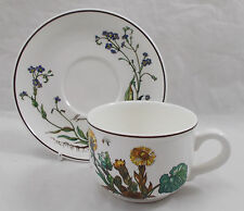 Villeroy & and Boch BOTANICA tea cup and saucer - Excellent