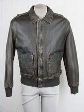 Tommy Hilfiger Men's M Brown Faux Leather Moto Jacket MSRP $239 K60