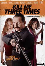 Kill Me Three Times DVD * 2015 * Simon Pegg & Fast Shppng