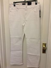 Not Your Daughters Jeans NYDJ Tummy Tuck Optic White Modern Boot Jeans Size 16P