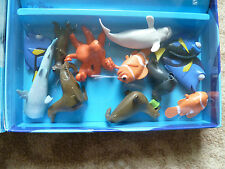 Finding Dory Cake Toppers 12 Figurines Plus A Free Book and PlayMat - Brand New