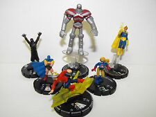 DC HEROCLIX JUSTICE SOCIETY OF AMERICA TEAM WITH DR. FATE LE & UNIQUE STRIPE