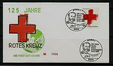 BRD FDC MiNr 1387 (2g) 125 años internacional cruz roja-organización humanitaria -