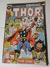 THOR 239 Buscema B & W French comic Heritage 49 Québec 1976 Rare!