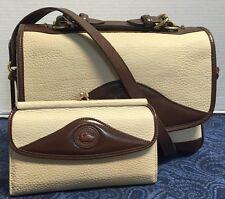 Vintage Dooney & Bourke~AWL~BONE Carrier B701 Shoulder Bag-&Wallet*Handbag*1002