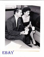 Dana Andrews Ruth Roman busty VINTAGE Photo candid 1956