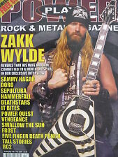 POWERPLAY 106 - ZAKK WYLDE/DORO/IT BITES/SAMMY HAGAR/DEATHSTARS/VENGEANCE