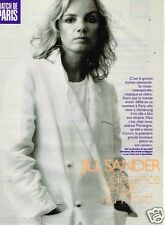 Coupure de Presse Clipping 1996 (3 pages) Jill Sander